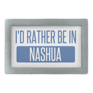 I'd rather be in Nashua Belt Buckles