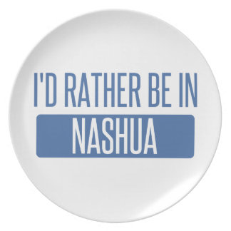 I'd rather be in Nashua Plate