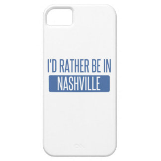 I'd rather be in Nashville Barely There iPhone 5 Case