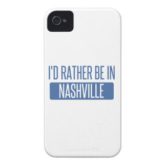 I'd rather be in Nashville iPhone 4 Cases