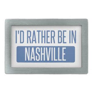 I'd rather be in Nashville Rectangular Belt Buckles