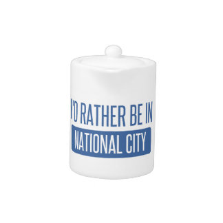 I'd rather be in National City