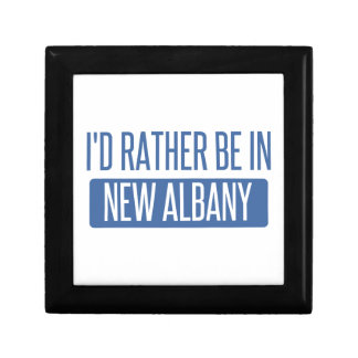 I'd rather be in New Albany Gift Box