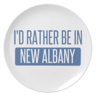 I'd rather be in New Albany Plate
