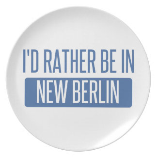 I'd rather be in New Berlin Plate