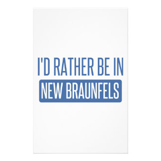 I'd rather be in New Braunfels Stationery