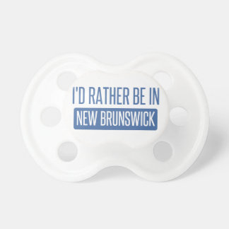 I'd rather be in New Brunswick Dummy