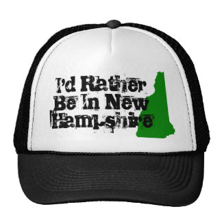 I'd Rather be in New Hampshire Cap