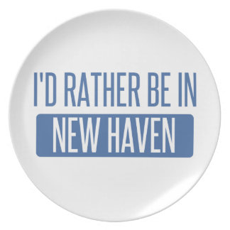 I'd rather be in New Haven Plate