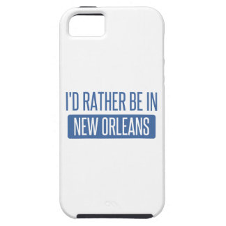 I'd rather be in New Orleans iPhone 5 Case