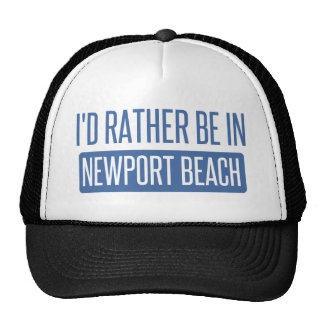 I'd rather be in Newport Beach Cap
