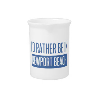 I'd rather be in Newport Beach Pitcher