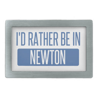 I'd rather be in Newton Belt Buckle