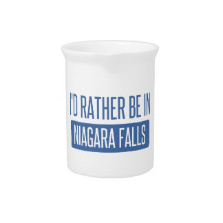 I'd rather be in Niagara Falls Pitcher