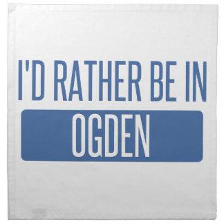 I'd rather be in Ogden Napkin