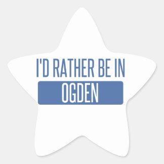 I'd rather be in Ogden Star Sticker