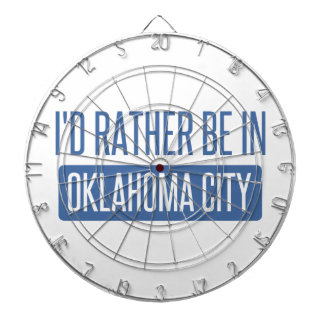 I'd rather be in Oklahoma City Dartboard