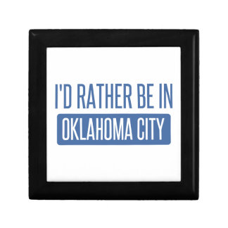 I'd rather be in Oklahoma City Gift Box