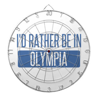 I'd rather be in Olympia Dartboard