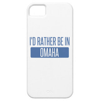 I'd rather be in Omaha iPhone 5 Covers