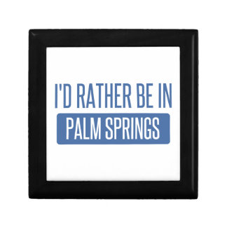 I'd rather be in Palm Springs Gift Box