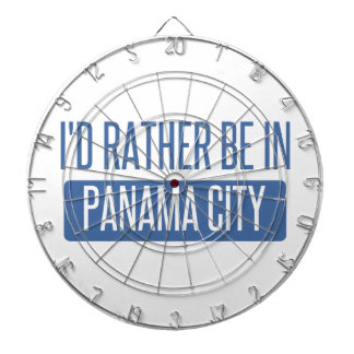 I'd rather be in Panama City Dartboard