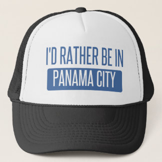 I'd rather be in Panama City Trucker Hat