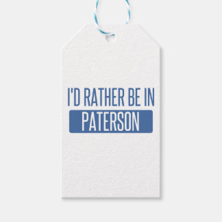 I'd rather be in Paterson