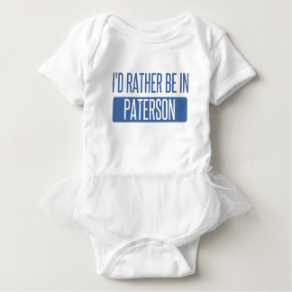 I'd rather be in Paterson Baby Bodysuit