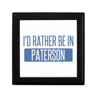 I'd rather be in Paterson Gift Box