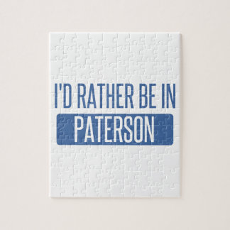 I'd rather be in Paterson Jigsaw Puzzle