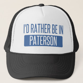 I'd rather be in Paterson Trucker Hat