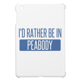 I'd rather be in Peabody Case For The iPad Mini