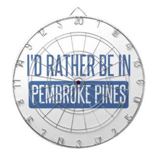 I'd rather be in Pembroke Pines Dartboard