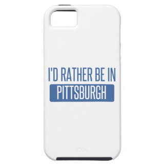 I'd rather be in Pittsburgh iPhone 5 Covers
