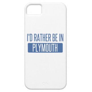 I'd rather be in Plymouth Barely There iPhone 5 Case