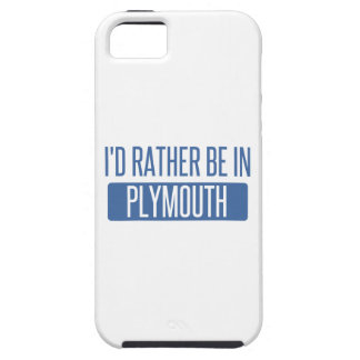I'd rather be in Plymouth iPhone 5 Covers