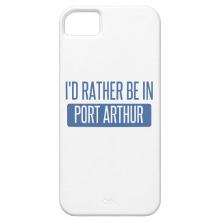 I'd rather be in Port Arthur Barely There iPhone 5 Case