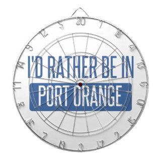 I'd rather be in Port Orange Dartboard