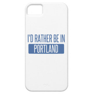 I'd rather be in Portland ME iPhone 5 Cases