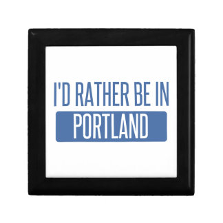 I'd rather be in Portland OR Gift Box