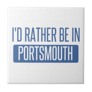 I'd rather be in Portsmouth Tile
