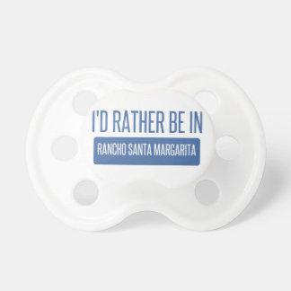 I'd rather be in Rancho Santa Margarita Dummy