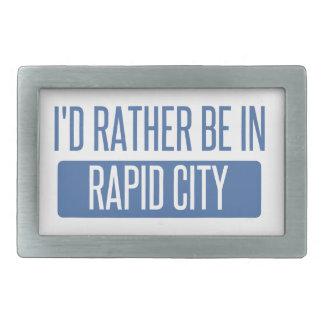 I'd rather be in Rapid City Belt Buckles