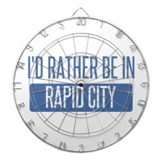 I'd rather be in Rapid City Dartboard