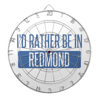 I'd rather be in Redmond Dartboard