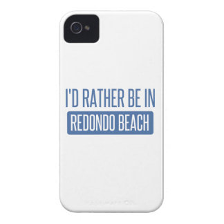 I'd rather be in Redondo Beach iPhone 4 Covers
