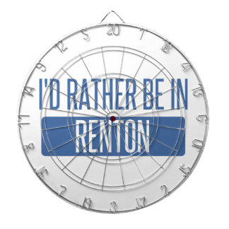 I'd rather be in Renton Dartboard