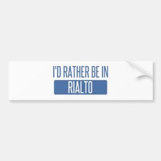 I'd rather be in Richardson Bumper Sticker