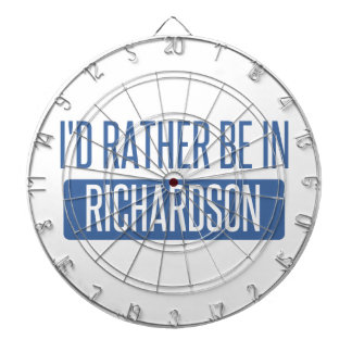 I'd rather be in Richland Dartboard
